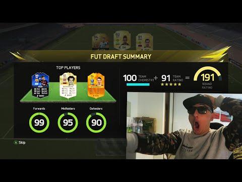 190 FUT DRAFT CHALLENGE!!! - FIFA 16