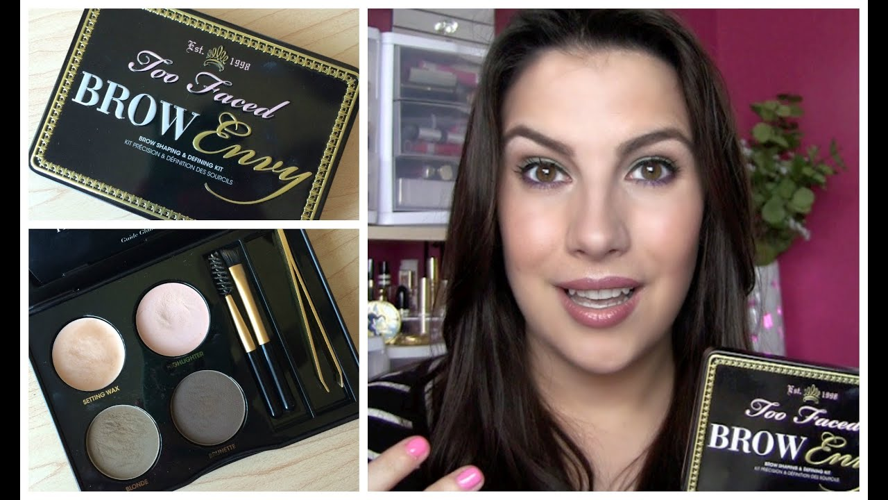 Too Faced Brow Envy Review Youtube