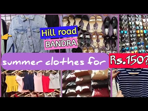 Latest summer styles for Rs.150|Markets of Mumbai|Hill road Bandra|Surbhi