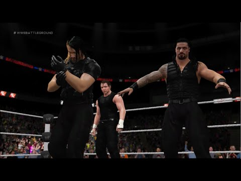 WWE 2K16   How to Make The Shield Attires