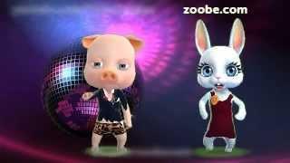 Zoobe Зайка и Хрюша: Девушка, дайте зажигалку
