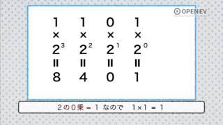 2進数・10進数の変換法
