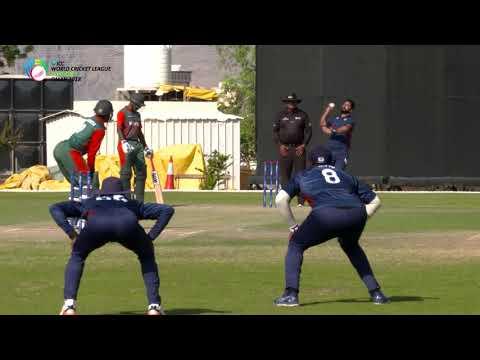 World Cricket League Division 3 | USA v Kenya highlights