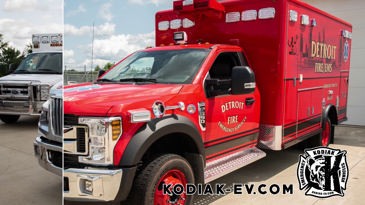 Products – Ambulances, Fire Trucks, Conversions and