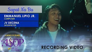 JV Decena sings Sapat Na Ba by Emmanuel Lipio Jr. | ASOP 6 Grand Finals