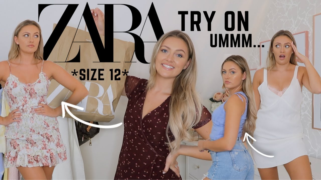 ZARA TRY ON HAUL!!!! *SIZE 12* SUMMER // NEW IN!!!!