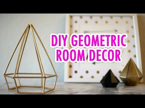 DIY Geometric Room Decor - HGTV Handmade