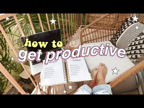 How To Be Productive When You're LAZY & Unmotivated