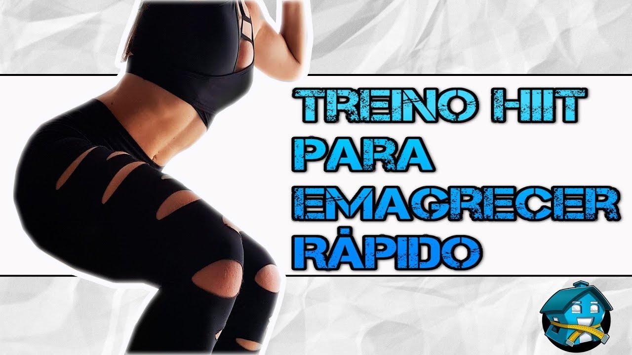 Rapido treino perder peso