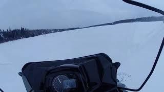 Максимальная скорость снегохода RM Vector 551I.