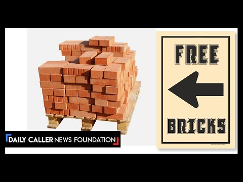 The Mysterious Pallets Of Bricks During The Riots