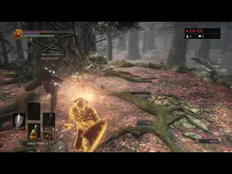 Dark Souls 3 live low level invader survival and possibly some karaoke