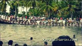 Snake Boat Race, Kerala (Happy Onam Wishes! )