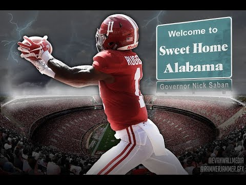 Sweet Home Alabama Football Speed Art