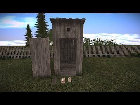 Сельский Туалет для GTA San Andreas