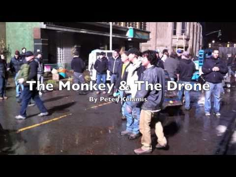 Peter Kelamis is 'The Monkey & the Drone'