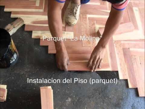 Parquet la molina paso 3 instalacion del piso parquet for Instalacion de parquet