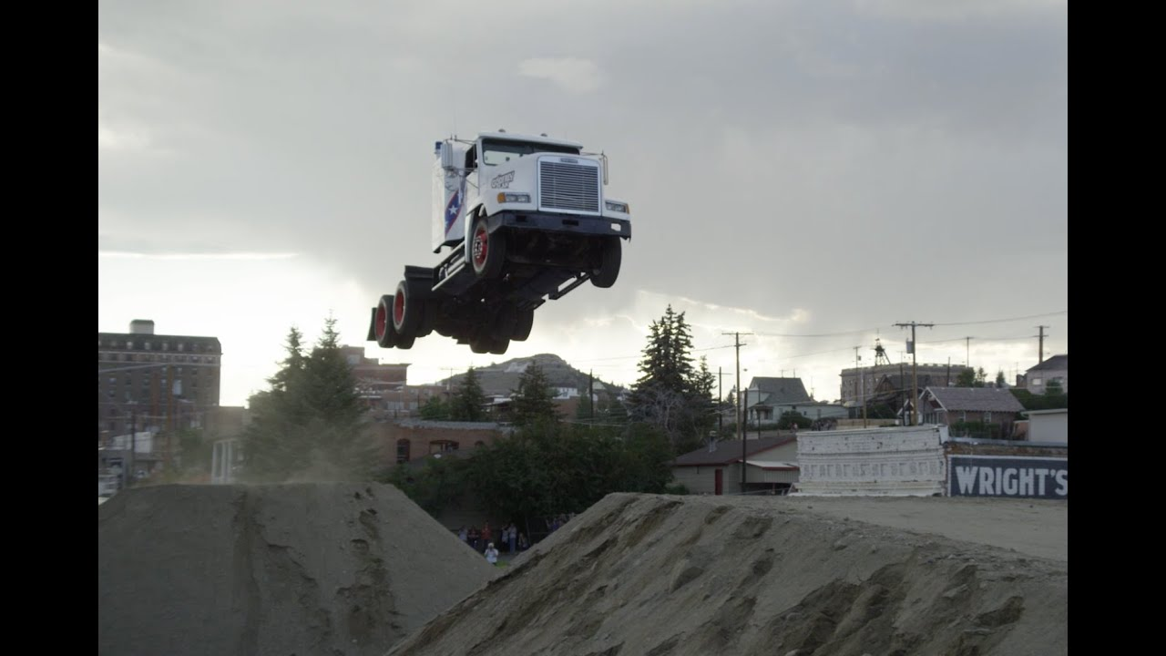 official semi truck world record jump utv world record tg godfrey usa