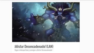 Aspecto Gratis LAN | League of Legends | 2017