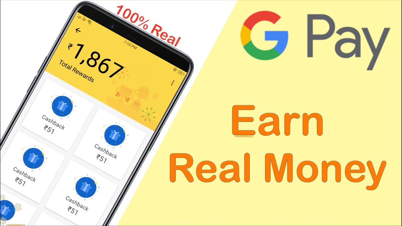 Google Pay Earn Money | Earn Upto 1,00000 Rupees from Google pay