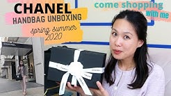 Chanel Handbag Unboxing | Spring Summer 2020 | Come Shopping with me!