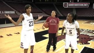 South carolina women's basketball team photo shoot & media day