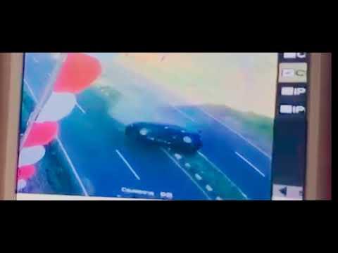 Kecelakaan di jalan ring road dua