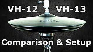 Roland VH 12 & VH-13 Setup/Comparison