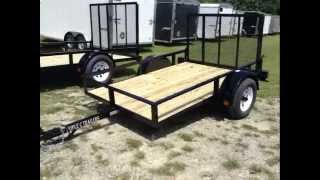 Utility Trailers by Triple C Trailers