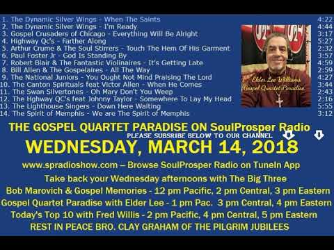 Gospel Quartet Paradise KSPR SoulProsper Radio