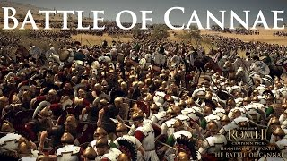 Total War Rome 2: Hannibal at the Gates The Battle of Cannae!