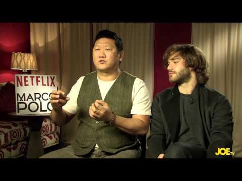 JOE meets Lorenzo Richelmy and Benedict Wong, the stars of Netflix's Marco Polo