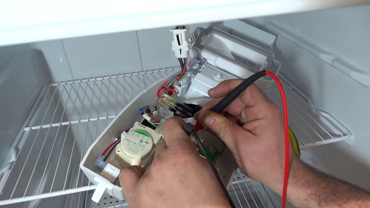 medium resolution of kenmore refrigerator not cooling at all defrost timer and cold control