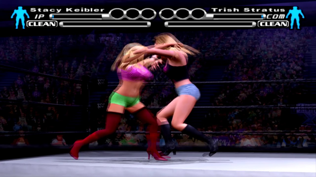 requested match for WWE smackdown vs raw bra and panties Trish vs Stacy 2ff84da68