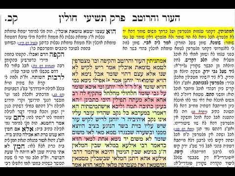 חולין קכ 120 רביעי כ׳ אדר ב׳ תשע״ט הדף היומי מסכת חולין קכ 120 Daf yomi chullin daf 120