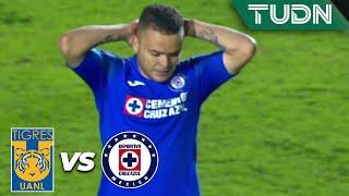 ¡Jona la manda al poste! | Tigres 0 - 1 Cruz Azul | Liga Mx - AP 19 - J 15 | TUDN