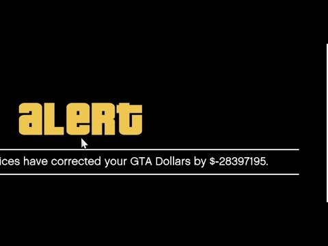 GTA 5 Online - Rockstar Game Services have corrected your GTA dollars