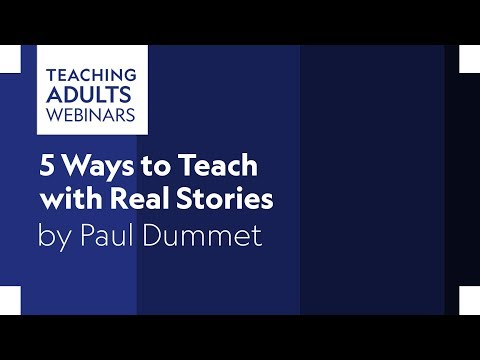 5 Ways To Teach With Real Stories