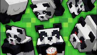 Minecraft В Мире Животных: ПАНДЫ