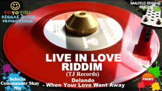 Live In Love Riddim Mix [May 2012] TJ Records