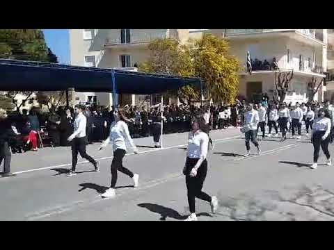 Βίντεο από την παρέλαση για την 25η Μαρτίου στα Χανιά