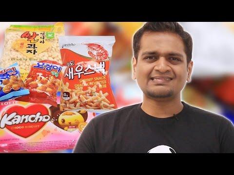 Indians Try Korean Snacks