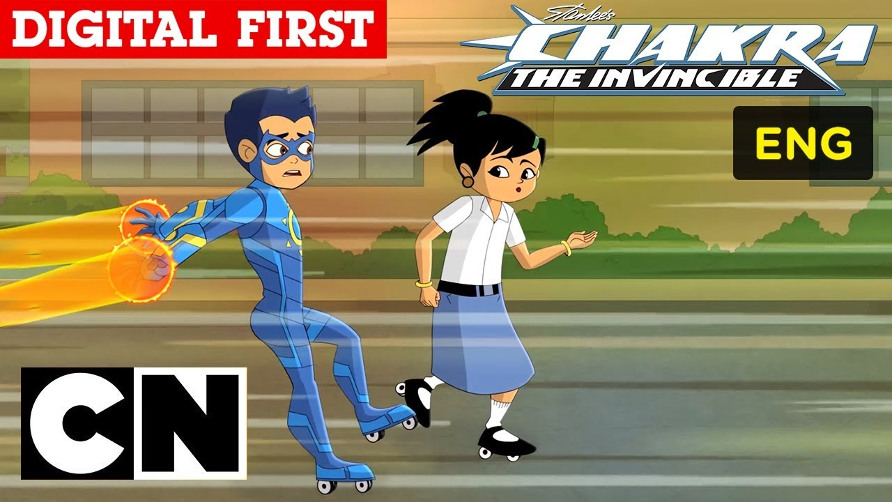 Stan Lees Chakra The Invincible The Rollerblades English
