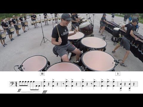 2018 Boston Crusaders Timpani - LEARN THE MUSIC to