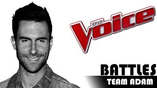 The Voice 2017 Battle - TEAM ADAM