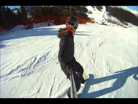 Snowboard Granvalira 2012 filmed with Drift HD170