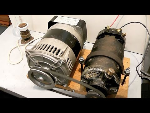 Motor Generator Alternator Youtube