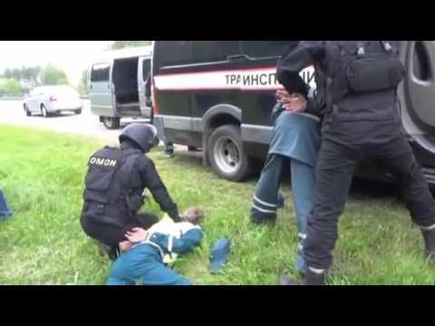 Взятка транспортной инспекции в Белоруссии закончилась... спецназом
