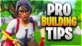 NEW ADVANCED/PRO BUILDING TIPS! (Fortnite Battle Royale)