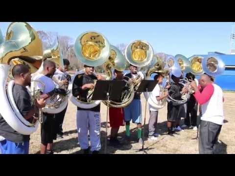 "Louisiana Leadership Institute All-Star Marching Band 2014 ""Houston MLK BOTB Prep"" Part.3"